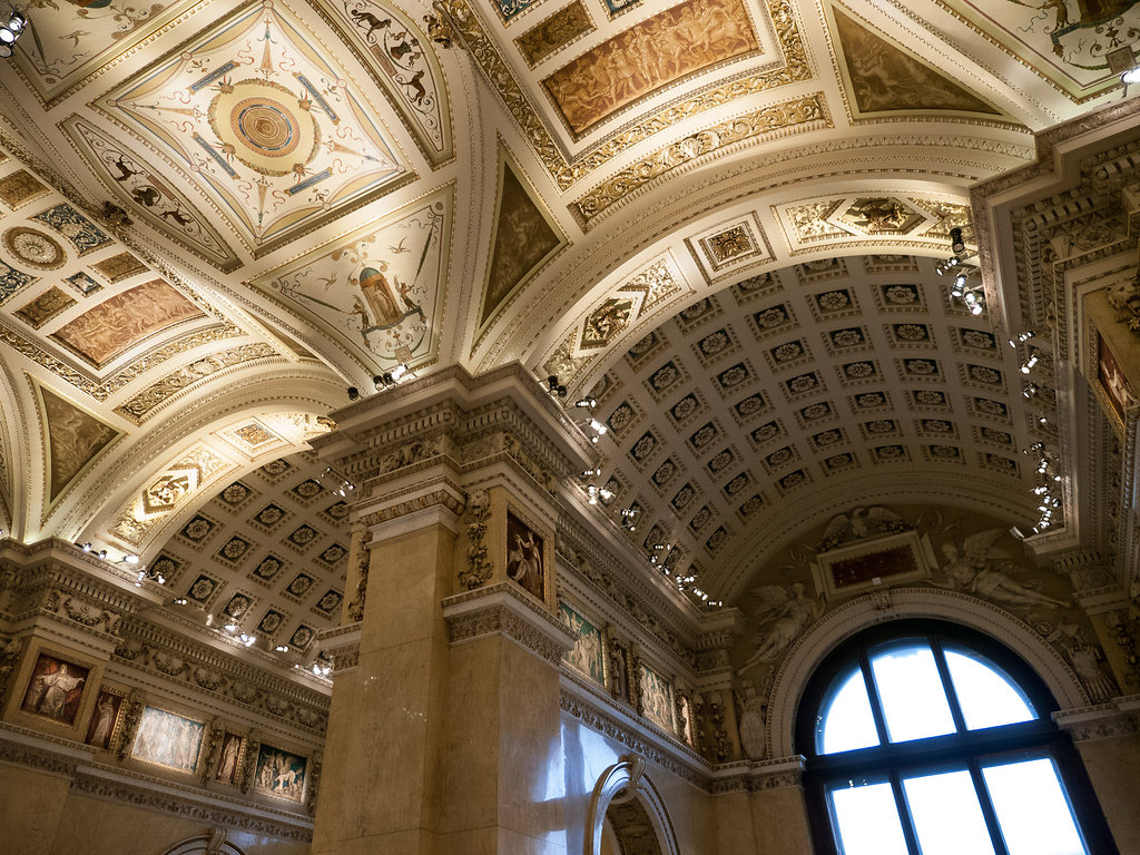 Ceilings at Kunsthistorisches Museum