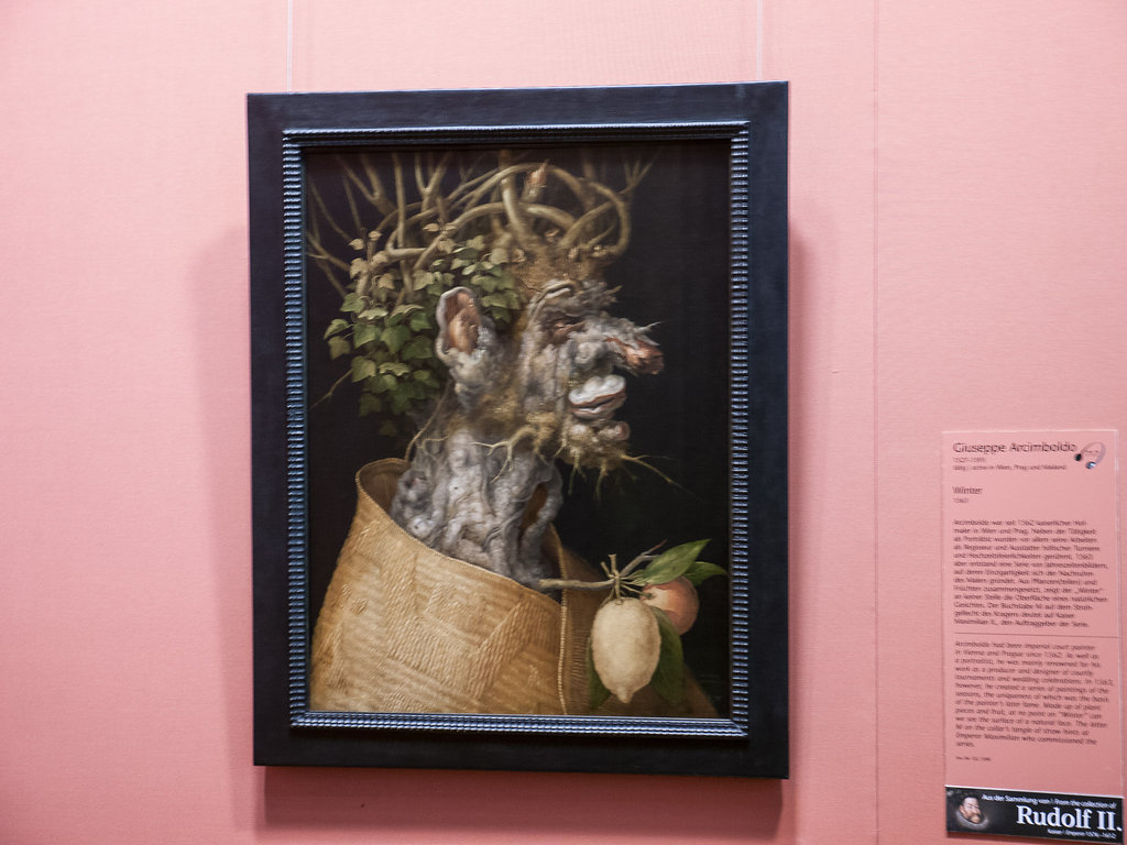 Arcimboldo at Kunsthistorisches Museum